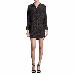 GREY Jason Wu Silk Polka Dot Shift Dress